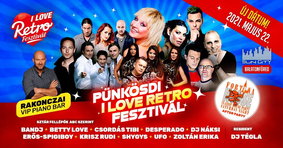 Pünkösdi I Love RETRO Fesztivál – Balatonfüred